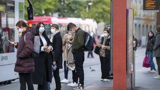 Coronavirus: le nombre de cas par canton est en hausse