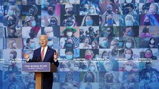 Présidentielle américaine: Joe Biden promet un vaccin gratuit «pour tous» s'il est élu