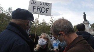 France: un hommage au professeur sur fond de polémique