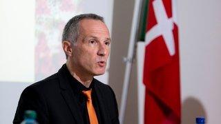 Coronavirus: «Il faut agir et convaincre d'agir», estime Laurent Kurth