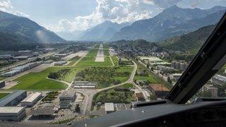 Aéroport de Sion: les pilotes amateurs ne seront plus obligés de parler anglais