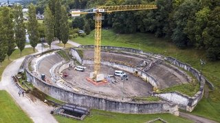 Martigny: comment on rénove un amphithéâtre antique