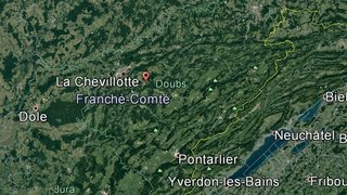 Un petit avion s'écrase dans un bois du Doubs: 3 morts en France voisine