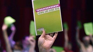 Assemblées: les délégués de l'UDC et des Verts se réunissent en ligne