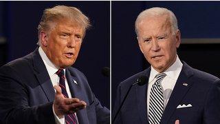 Présidentielle américaine: micros coupés pendant le débat entre Trump et Biden