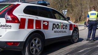 Neuchâtel: coup de feu dans la rue au Locle, deux arrestations