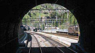 La rénovation de l'ancien tunnel du Lötschberg coûtera 52 millions de plus que prévu