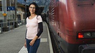 Hanny Weissmüller: à 47 ans, la cheffe de file du personnel de locomotives, c'est elle