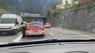 Collision entre 4 véhicules à Martigny-Croix: 1 blessé