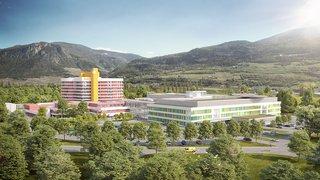 Les travaux d'agrandissement de l'hôpital de Sion ont débuté