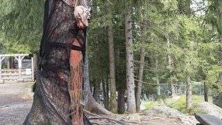 Halloween: le zoo alpin des Marécottes va faire peur à ses visiteurs jusqu'à la fin octobre