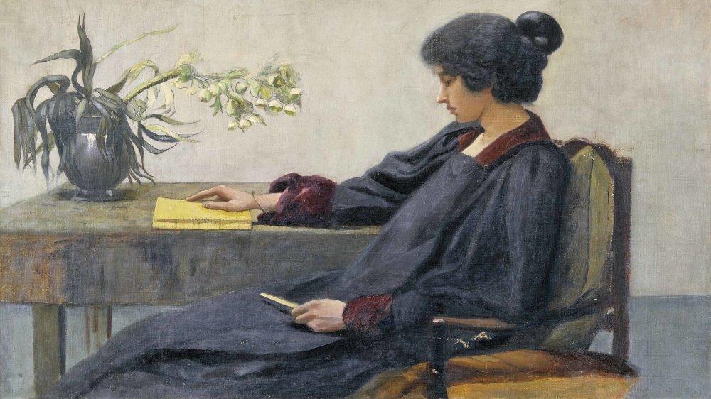 Marguerite Burnat-Provins (1872-1952). Autoportrait, sans date.