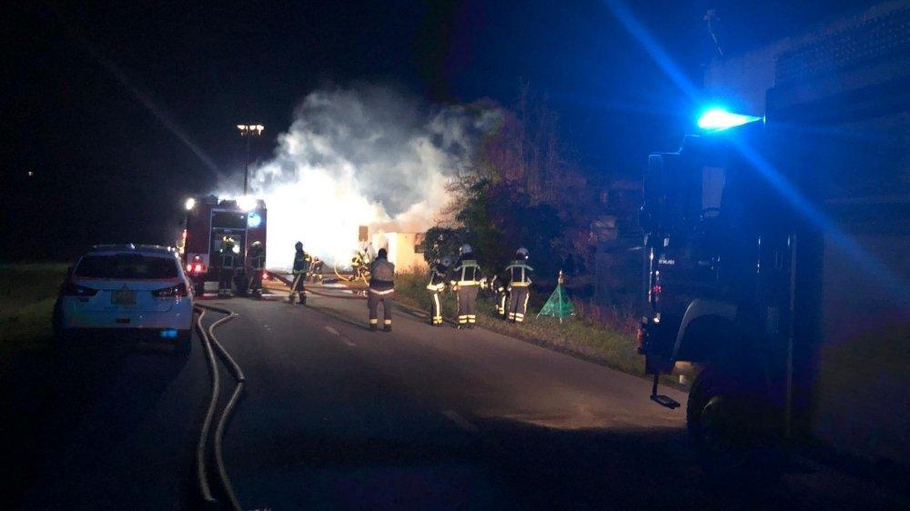 L'explosion de vendredi soir a eu lieu hors de l'outil de production de l'entreprise sédunoise.