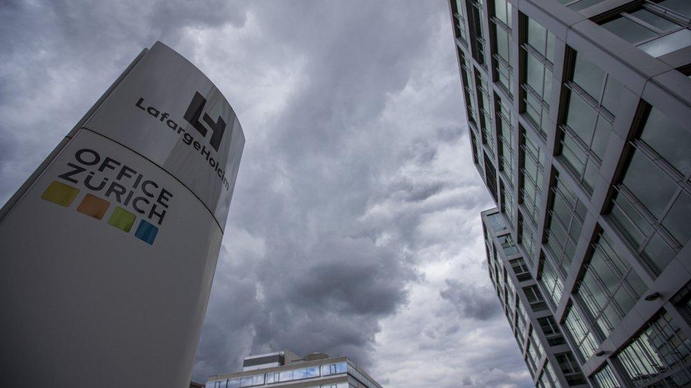 Le siège du groupe cimentier se trouve à Zurich. LafargeHolcim est un des groupes concernés par l'initiative pour des multinationales responsables.