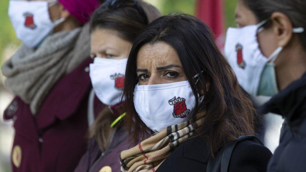 Le personnel soignant affiche sa lassitude et sa colère, cette semaine, en Suisse romande. Hier, la mobilisation passait par Genève.