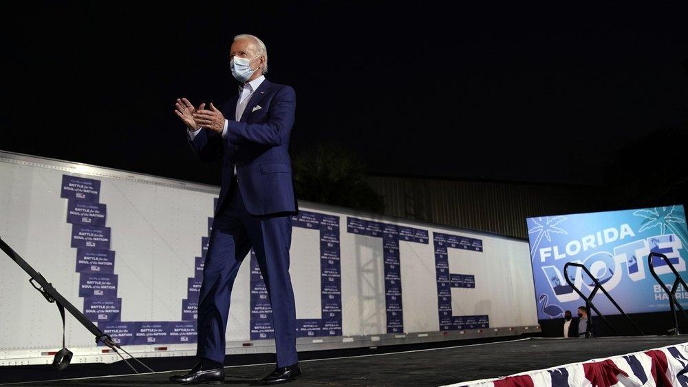 Pour Douglas Kennedy, Joe Biden – qui a bouclé sa campagne dans l'Etat de Floride à Tampa, jeudi – a été «un excellent vice-président», aux côtés de Barack Obama.