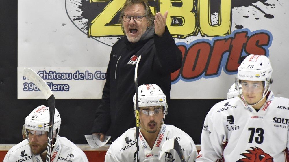 Bruno Aegerter a dirigé son premier match de Swiss League à la tête de Viège mardi soir à Sierre. Il avait déjà entraîné Viège en LNB entre 2000 et 2005.