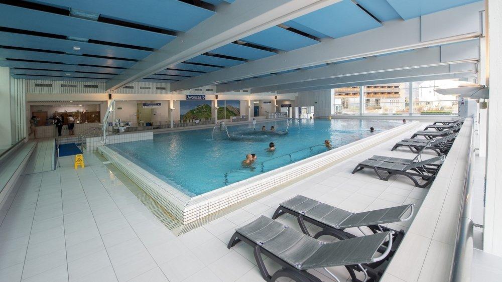 Les clients de l'hôtel des Bains de Saillon sont les seuls autorisés à se baigner.