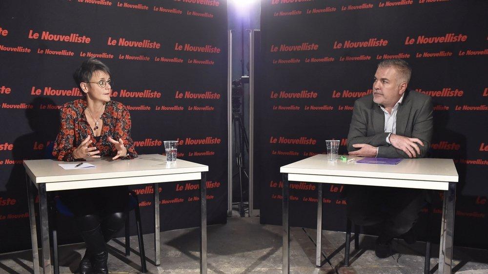 Elections communales: notre face-à-face entre Sandra Cottet Parvex (PDC) et Olivier Turin (PS) pour la présidence de Collombey-Muraz.