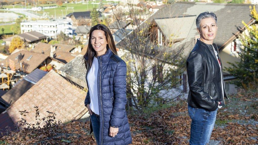 Les citoyens de Chalais auront le choix entre deux personnalités originaires de la commune pour prendre les rennes de l'exécutif. Sylvie Masserey Anselin, de la liste Vision commune, est confrontée à la PDC Martine Perruchoud Hofstädter, conseillère sortante.