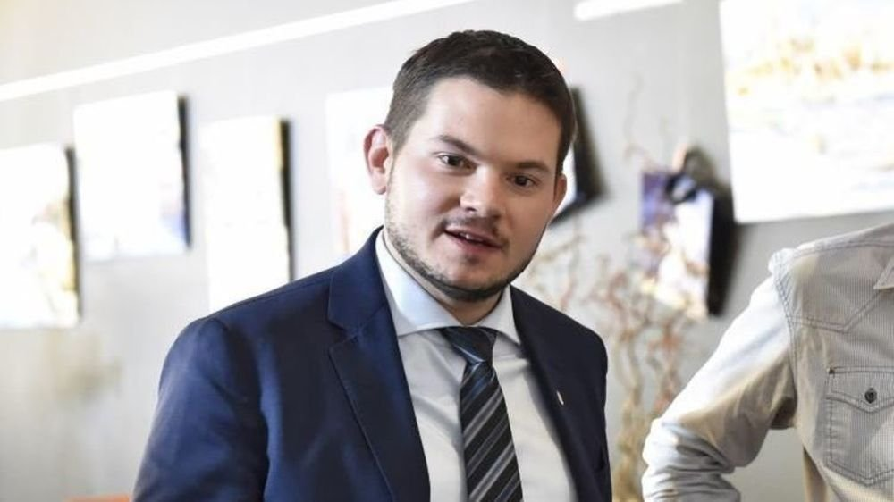 Grégory Logean, futur chef de l'exécutif UDC, incarne le carton électoral de son parti.