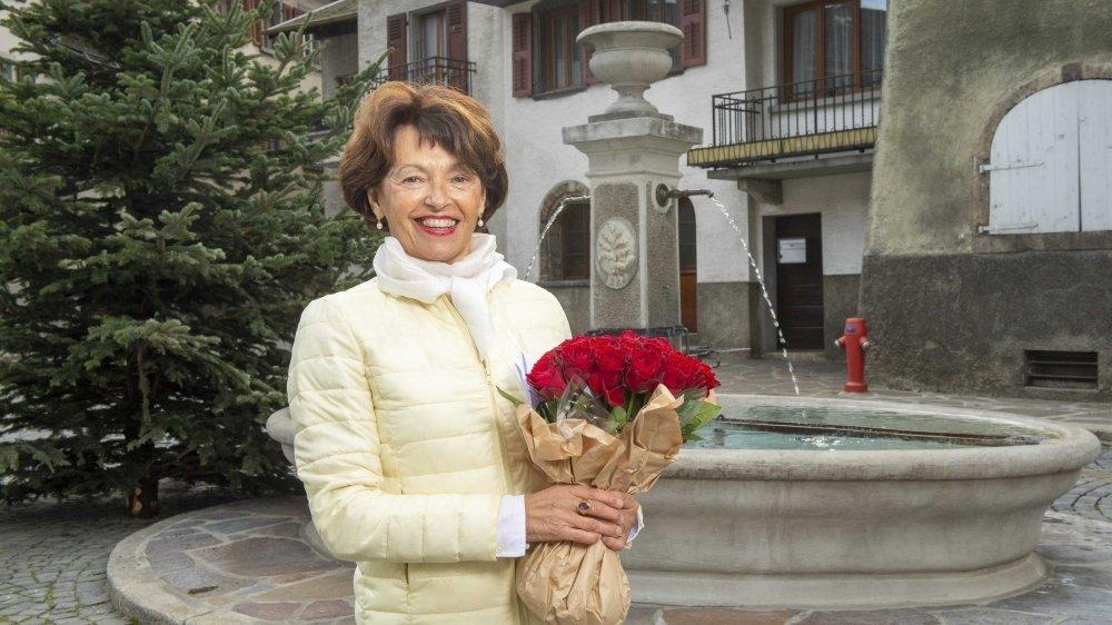 Marie-Madeleine Luy, nouvelle présidente de Sembrancher