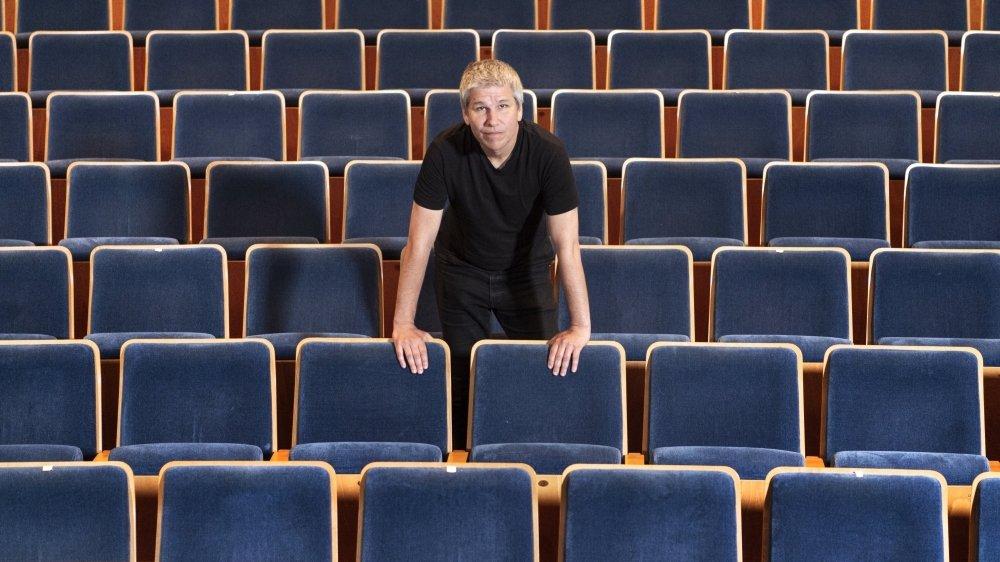 Lorenzo Malaguerra, directeur duThéâtre du Crochetan. Ses propos en ligne ont suscité un débat nourri sur l'ouverture ou la fermeture des théâtres durant cette deuxième vague du Covid-19.