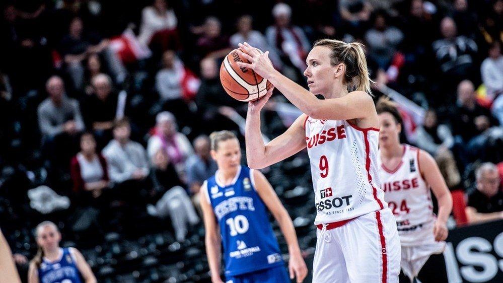 Marielle Giroud, figure de proue du basket valaisan mais aussi de l'équipe nationale.