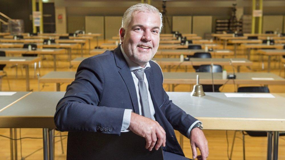 Olivier Turin est le nouveau président de Collombey-Muraz.