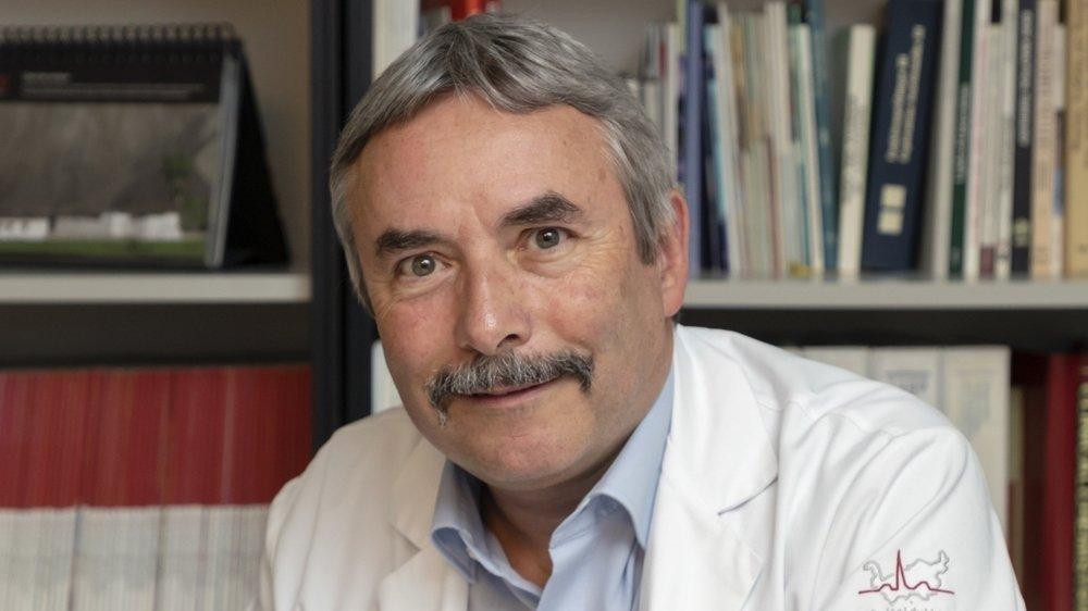 Le Dr Michel Rossier est chef du service de chimie clinique et toxicologie et chef des laboratoires auprès de l'Institut central des hôpitaux.