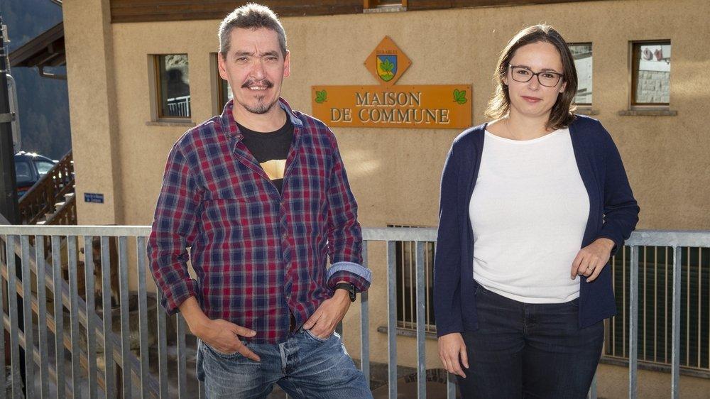 A Isérables, le président sortant Régis Monnet (PLR) a été facilement réélu et la nouvelle conseillère communale Cindy Bagnoud (PLR) accède directement à la vice-présidence.