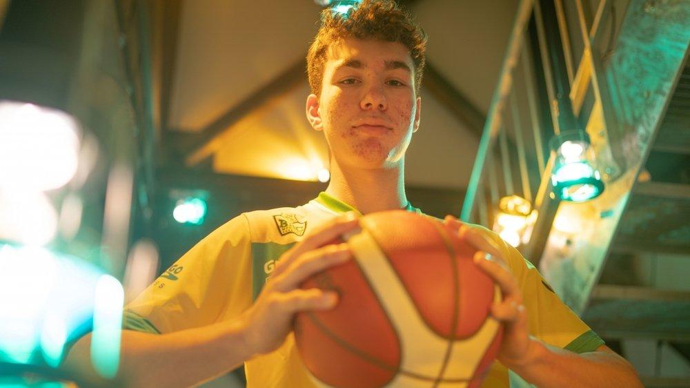 A 17 ans, le meneur du BBC Monthey-Chablais possède des qualités techniques supérieures à la moyenne.