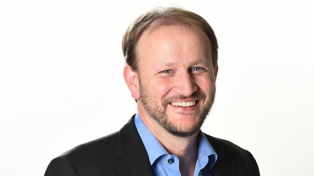 """Vincent Fragnière, rédacteur en chef du """"Nouvelliste"""""""
