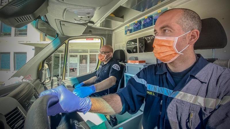 Avec le dispositif mis en place par l'OCVS, des binômes pompier-ambulancier peuvent être créés.