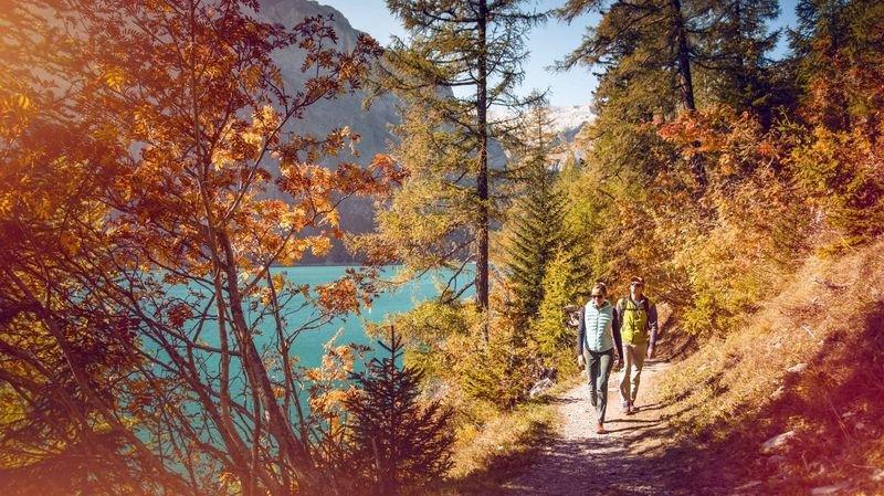Valais: un week-end pour admirer les feuilles de l'automne
