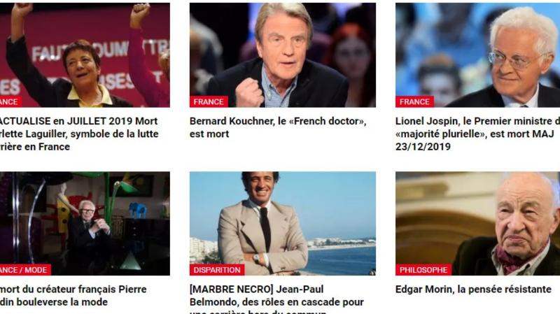 Plusieurs personnalités bien vivantes ont été annoncées comme mortes par la radio RFI.