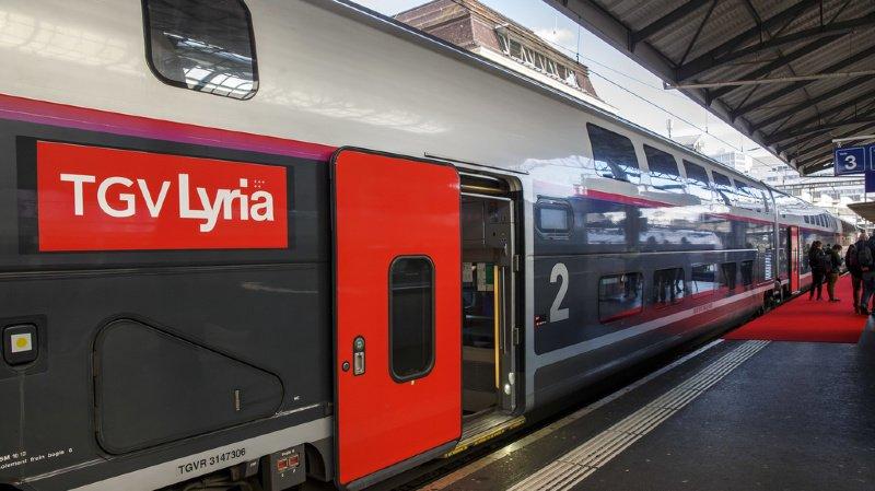Le TGV Lyria continuera à relier la capitale française à Genève ou Zurich (illustration).