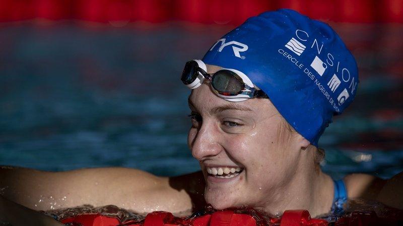 Natation: Chloé Imsand offre une finale A au Cercle des nageurs de Sion lors des championnats de Suisse