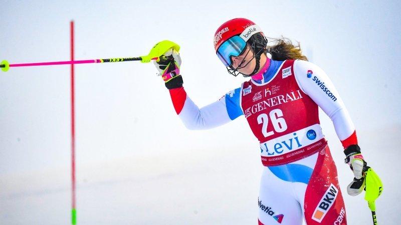 Ski alpin: un «week-end réussi» pour Mélanie Meillard