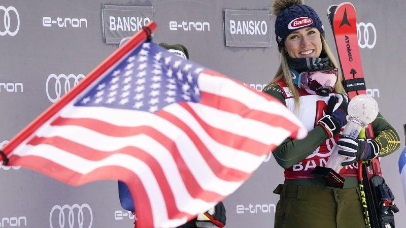 Ski alpin: Mikaela Shiffrin veut revenir fin novembre à Levi