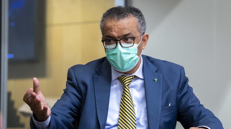 Le directeur général de l'OMS appelle à la prudence concernant le vaccin.