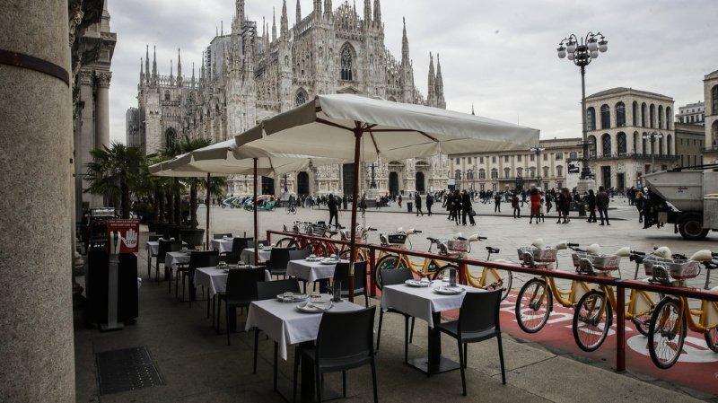 Coronavirus: l'Italie renforce les restrictions après un nombre record de nouvelles infections