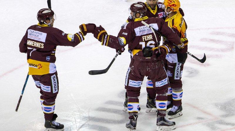 Hockey – National League: le Genève-Servette HC s'impose grâce à un quadruplé de Fehr