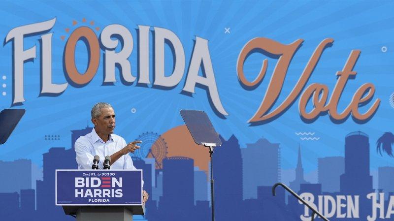 Présidentielle américaine: Biden et Obama en campagne ensemble pour la première fois samedi