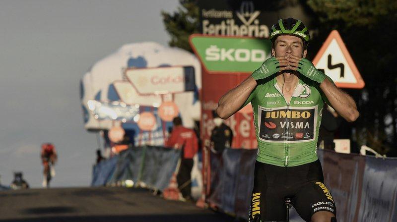 Cyclisme – Tour d'Espagne: Primoz Roglic s'adjuge la 8e étape