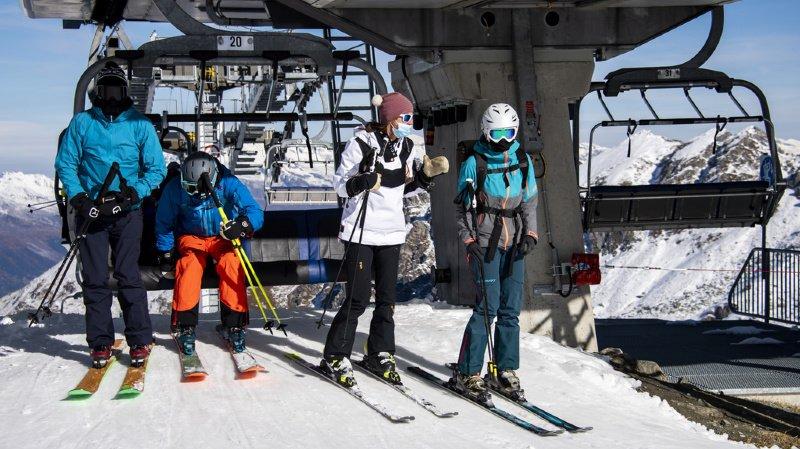 A Verbier, le premier jour de ski donne un avant-goût de ce que sera la saison d'hiver