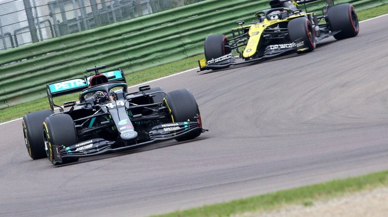 F1 – Grand Prix d'Emilie-Romagne: Lewis Hamilton s'impose à Imola (I), doublé Mercedes
