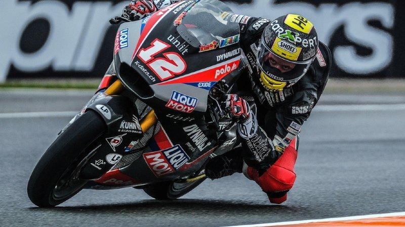 Motocyclisme – GP d'Europe: Lüthi complètement hors-coup en Moto2