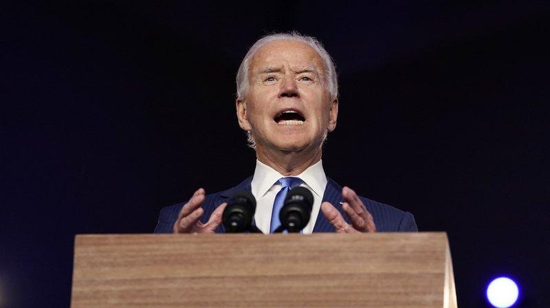 Présidentielle américaine: le démocrate Joe Biden est élu président des Etats-Unis