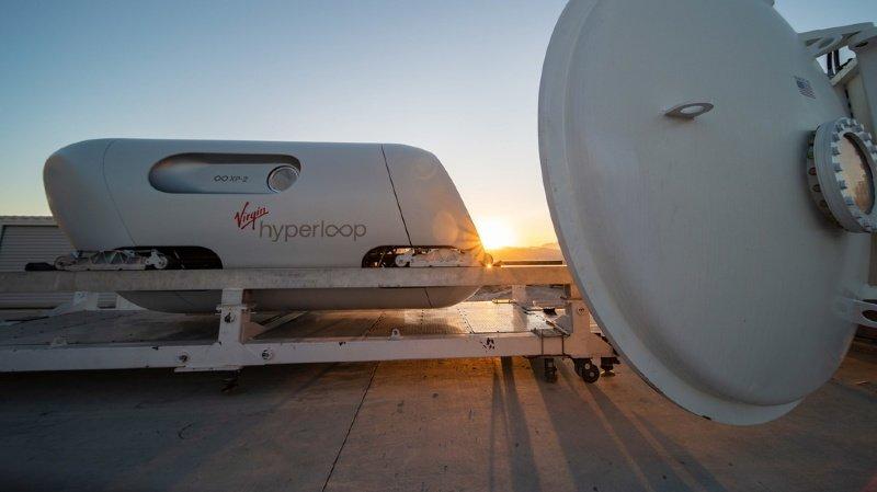Transport: Virgin Hyperloop réalise un premier test de train futuriste à grande vitesse avec des passagers